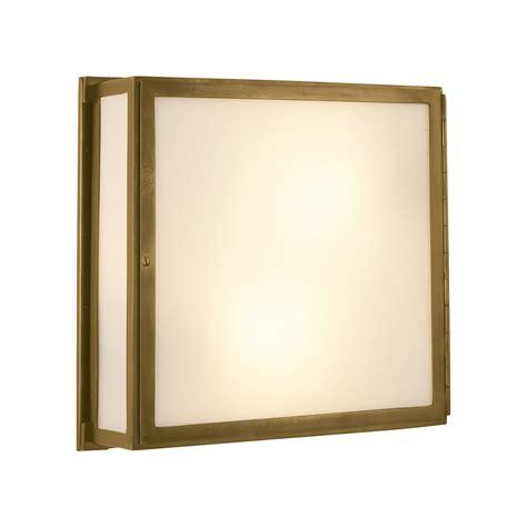 visual comfort mercer square box light wall mount