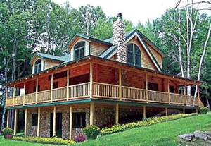 log homes with wrap around porches log cabin with wrap around porch ideas for house