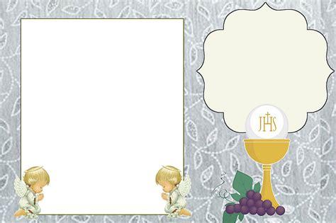 communion  printable invitations  cards