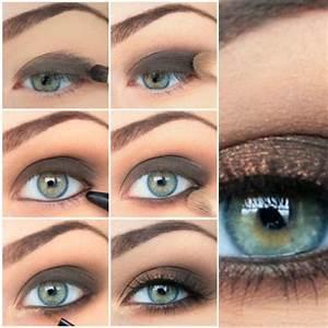 Eye Makeup for Blue-Gray Eyes