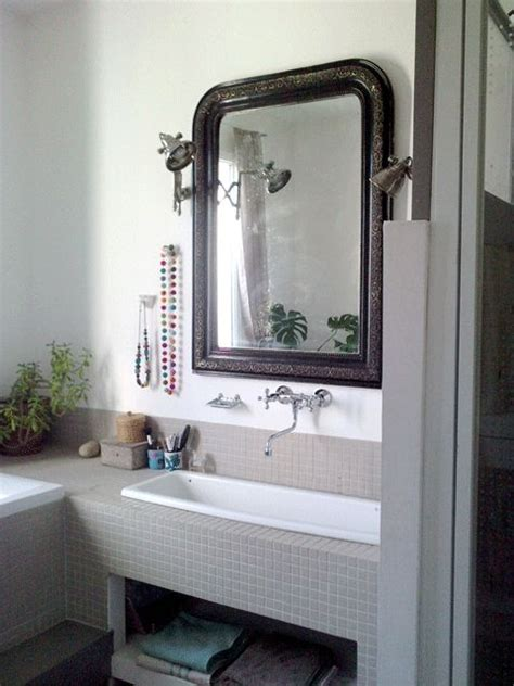miroir a l ancienne les 25 meilleures id 233 es de la cat 233 gorie grands miroirs de salle de bains sur