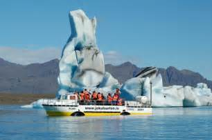 Iceland Glacier Lagoon Boat Tours