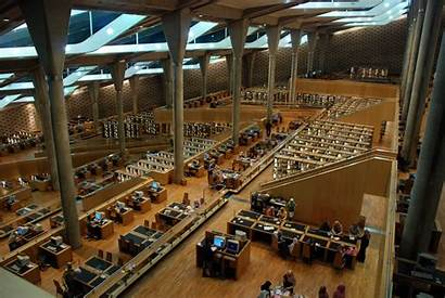 Library Alexandria Libraries Africa Famous Alexandrian