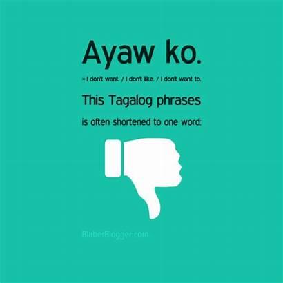 Tagalog Phrases Words Common Conversation Filipino Phrase