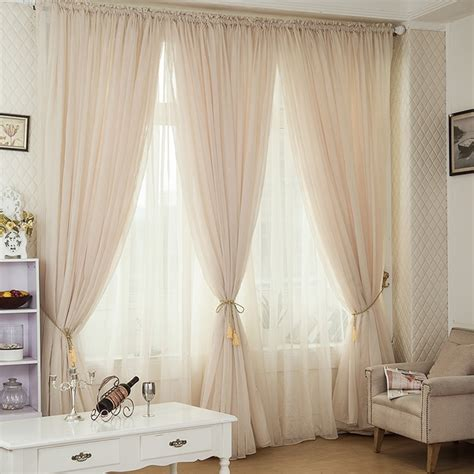 colors tulle curtains cortina floral window voile sheer