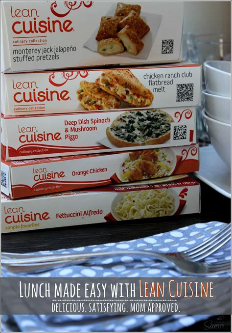 lean cuisine lunch made easy with lean cuisine delicious satisfying