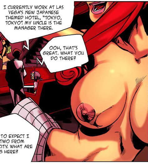 Bizarre Anime Stripper Giantess Comic For Growth Giantess