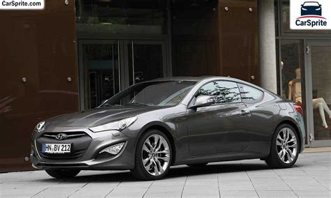 hyundai genesis coupe  prices  specifications