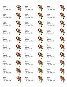 free printable christmas labels templates christmas With avery template 8860