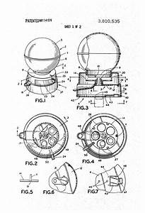 Patent Us3810535 - Gumball Machine Coin Bank