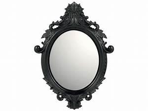 Miroir Blanc Baroque : miroir 55 cm 75 cm eleanor vente de miroir mural conforama ~ Teatrodelosmanantiales.com Idées de Décoration