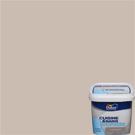 dulux cuisine et salle de bain peinture cuisine et bains marron glacé 2l peinture