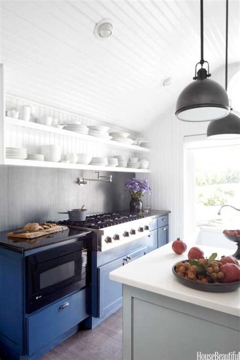 Blue And White Kitchen Decor  Farmhouse Kitchen Design Ideas