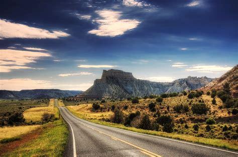 Papier Peint Paysage Montagne by Paysage Route 233 Pisodique Martial Bienvenus Aller En