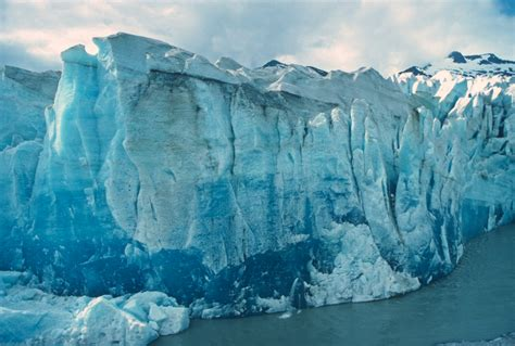 glacier ice  narrow fjords creates oceans noisiest