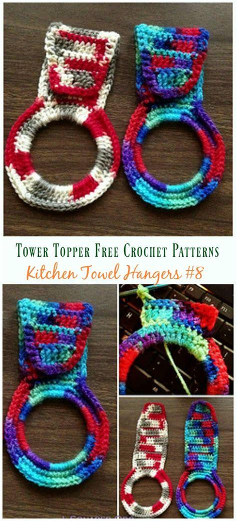 beautiful towel topper  crochet patterns