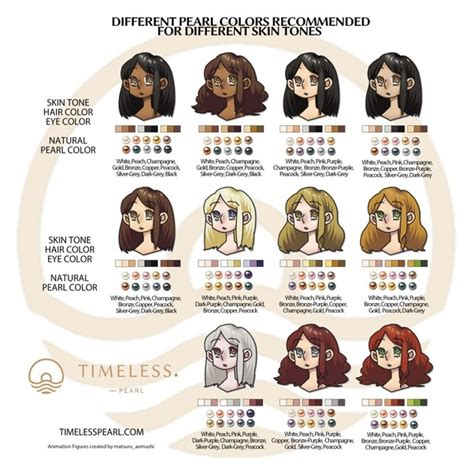 hair colors that go with skin what color pearls go well with an asian skin tone quora