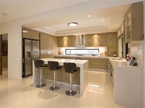 cuisine design avec ilot central 1001 id 233 es cuisine am 233 ricaine l ouverture sans le mur