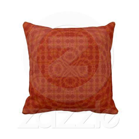 burnt orange pillows burnt orange geometric design throw pillow from zazzle