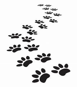 Paw Print Trail Transparent | www.pixshark.com - Images ...