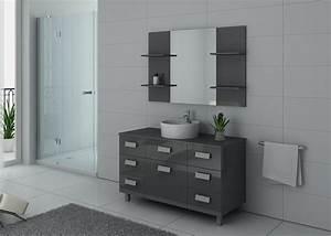 Meuble Salle De Bain Taupe : meuble de salle de bain simple vasque ref imperial gt ~ Dailycaller-alerts.com Idées de Décoration