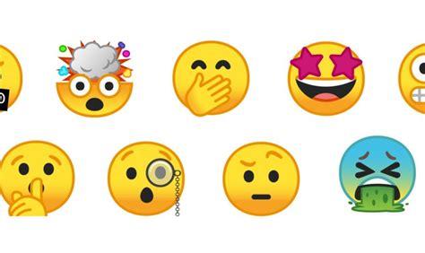 new android emojis enfin revoit la forme des emojis pour android o