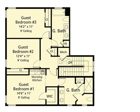Efficient House Plans by Energy Efficient House Plan With 4 Or 5 Bedrooms 33178zr