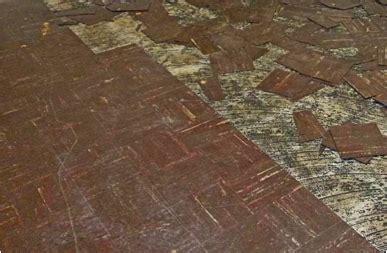 home  asbestos floors