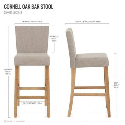 tabouret de bar atlas tabouret de bar tissu bois cornell idee bar bar
