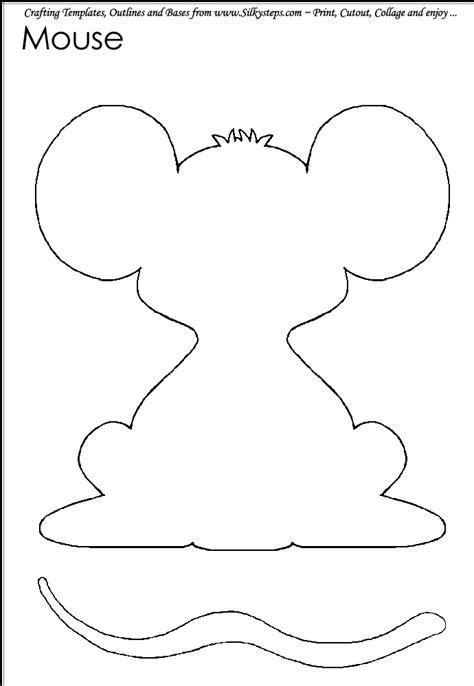 mouse paint template google search kindergarten