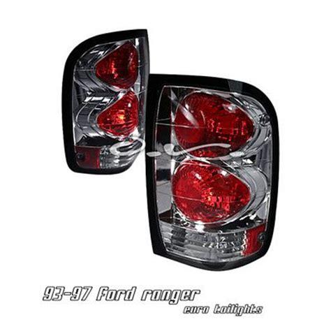 2000 ford ranger tail lights ford ranger 1993 2000 chrome altezza tail lights