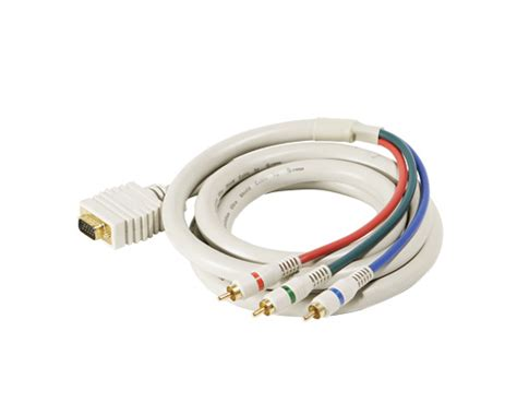 Svga Steren Vga Rca Rgb Component Video Cable