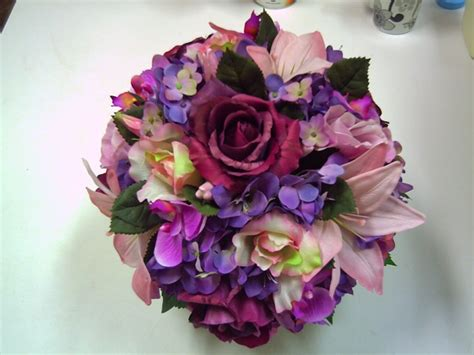 cheap silk wedding flower packages wedding  bridal