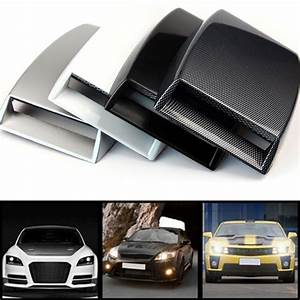 Scoop Auto : auto car engine air flow vent plastic sticker hood scoop decorative cover lqx ebay ~ Gottalentnigeria.com Avis de Voitures