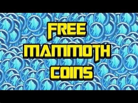 Mammoth coin codes 2021 : HOW TO GET FREE MAMMOTH COINS IN BRAWLHALLA!(Android Needed) - YouTube