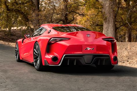 Toyota Ft-1 Concept Stuns, Previews Future