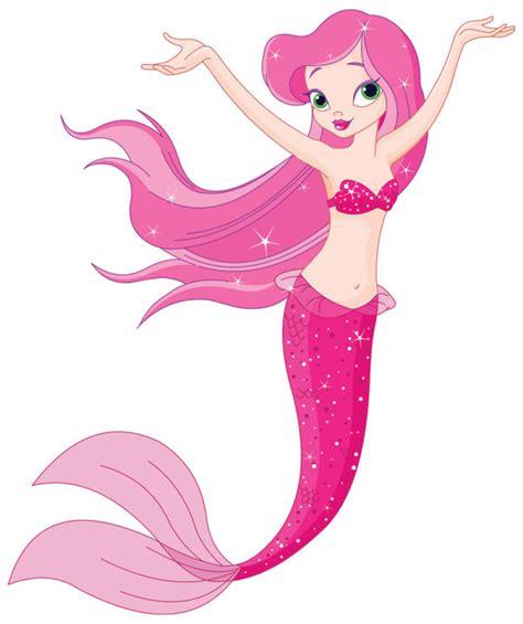 cartoon mermaid  vector   vectorpsdflash