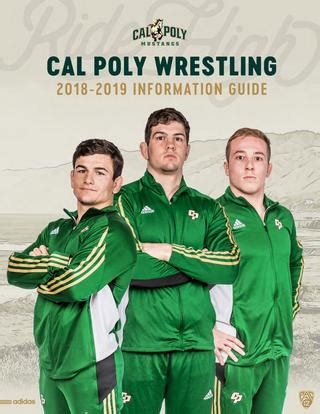 Greg Elinsky by 2018 19 Cal Poly Information Guide By Cal Poly