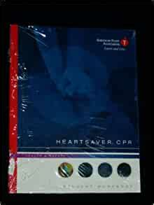 Red cross cpr & first aid. Heartsaver CPR: American Heart Association: 9780874934717 ...