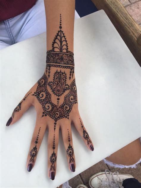 henna selber malen henna selber machen finger mode tattoos