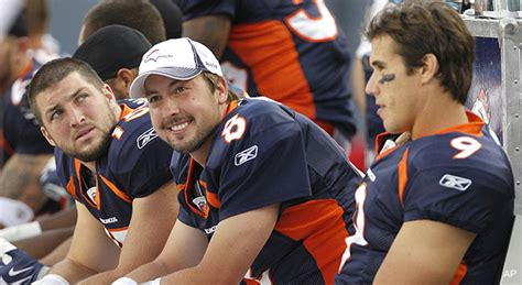 broncos depth chart tebow