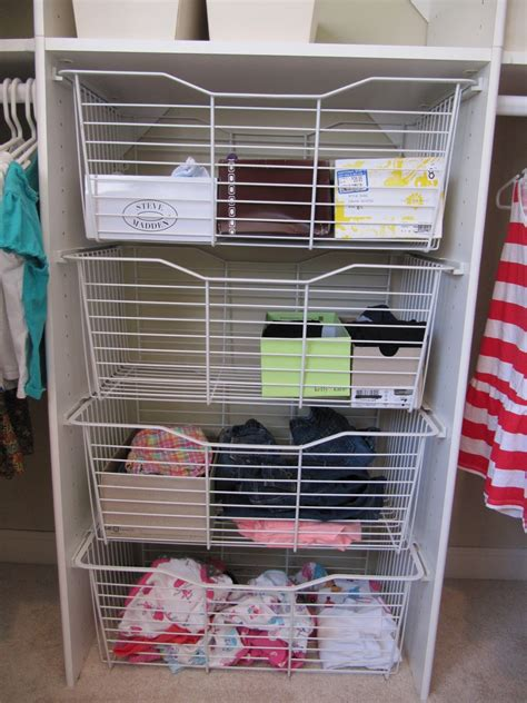 simple diy wire shelf dividers home decorations
