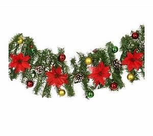 Girlande Weihnachten Beleuchtet : weihnachts girlande geschm ckt mit beleuchtung f r innen au en ~ Frokenaadalensverden.com Haus und Dekorationen