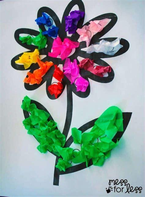 terrific tissue paper crafts  kids