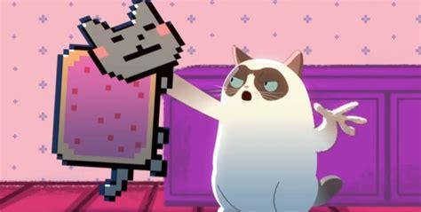 Grumpy Cat vs. Nyan Cat: Animeme Rap Battles Pits Feline ...