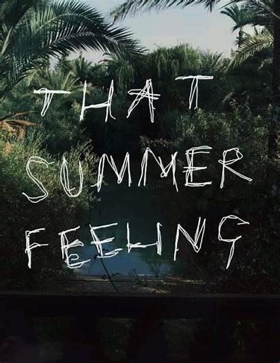 Summer Feeling Happy Friday Quotes Beach Feel