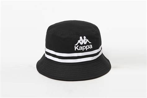 kappa logo bucket hat  drops
