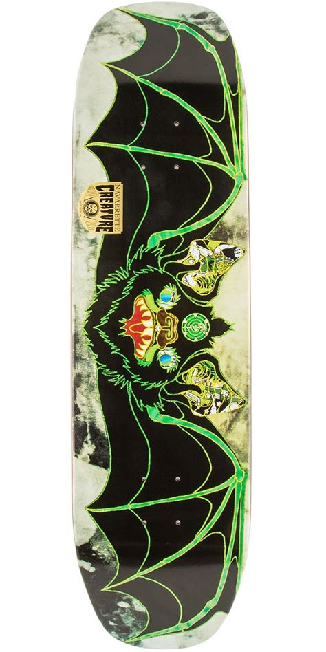 Creature Skateboard Decks 80 by Creature Navarrette Venom Stitches Skateboard Deck 8 80 Quot