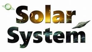 Educational Kismet : Solar System Word Art