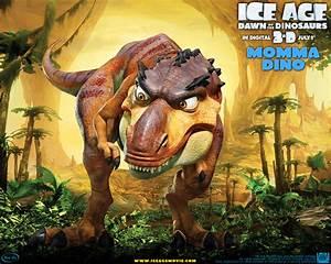 Momma T-Rex from Ice Age Desktop Wallpaper
